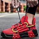 baratos Sandálias Masculinas-Homens Sapatos Confortáveis Couro Ecológico Inverno Tênis Corrida Botas Curtas / Ankle Preto / Branco e Preto / Branco e Verde