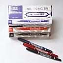 baratos Papel e cadernos-Muitas cores Marcador Ponta de Fibra Plástico 1 pcs