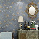 cheap Wallpaper-Wallpaper Nonwoven Wall Covering - Adhesive required Floral / Botanical