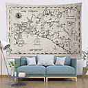 cheap Wall Tapestries-5 sizes orld Map Pattern Wall Tapestry Wall Hanging Blanket Farmhouse DecorHome Decorations Machine A Imprimer Sur Tissu Shabby Chic