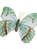 billige T-skjorter og singleter til herrer-glød-in-dark butterfly hjem 3d butterfly vegg klistremerker med pin&magnet gardiner kjøleskap dekorasjon