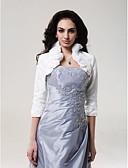 povoljno Stole za vjenčanje-Taft Vjenčanje Vjenčanje Zavrsena S S volanima Sakoi / jakne