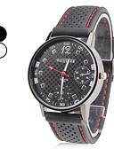 זול שמלות לבנות-בגדי ריקוד גברים שעון יד Japanese קווארץ סיליקוןריצה שחור שעונים יום יומיים אנלוגי קסם קלסי - לבן שחור שנה אחת חיי סוללה / SRUO SR626SW