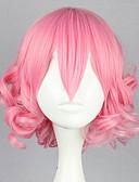 ราคาถูก สูท-วิกส์โลลิต้า Sweet Lolita สีแดงชมพู โลลิต้า วิกส์โลลิต้า 32 inch วิกส์คอร์สเพลย์ สีพื้น วิกผม ฮาโลวีนวิก