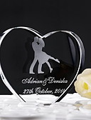 povoljno Praktični poklončići-Figure za torte Klasični Tema Hearts Kristal Vjenčanje godišnjica s Poklon kutija