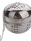 povoljno Zaštita ekrana tableta-multifunkcijski čaj promjera 5.5cm nehrđajućeg loptu zaključavanje Infuser cjedilo za čaj kotlova