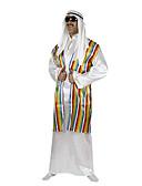 Χαμηλού Κόστους Περιπτώσεις AirPods-Πρίγκηπας αραβικός Στολές Ηρώων Κοστούμι πάρτι Ανδρικά Halloween Απόκριες Γιορτές / Διακοπές Πολυεστέρας Ανδρικά Αποκριάτικα Κοστούμια Ριγέ / Τεμάχια Κεφαλής