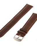 billige Leather Watch Band-Klokkeremmer Lær Klokketilbehør 0.006 Høy kvalitet