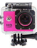 Χαμηλού Κόστους Men's Hats-SJ4000 Κάμερα Δράσης / Κάμερα Αθλημάτων GoPro vlogging Αδιάβροχη / Αντικραδασμικό / Όλα σε ένα 32 GB 12 mp 4000 x 3000 Pixel Καταδύσεις / Σέρφινγκ / Universal 1.5 inch CMOS 30 m
