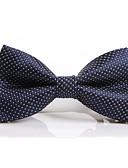 olcso Férfi nyakkendők és csokornyakkendők-Férfi Poliészter, Party / Munkahelyi / Alap - Csokornyakkendő