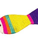 ราคาถูก อุปกรณ์เสริมสำหรับ Mac-ปลาที่มีสีสันรูปทรงแมวป่านศรนารายณ์ป่านของเล่น