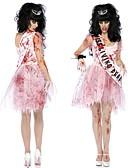 billige Dresser-Zombie Cosplay Kostumer Dame Halloween Festival / høytid Chiffon Terylene Dame Karneval Kostumer