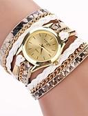 ราคาถูก นาฬิกาควอตซ์-สำหรับผู้หญิง นาฬิกาสร้อยข้อมือ ห่อนาฬิกา นาฬิกาอิเล็กทรอนิกส์ (Quartz) ห่อ PU Leather ดำ / สีขาว / ฟ้า ระบบอนาล็อก สุภาพสตรี ไม่เป็นทางการ แฟชั่น - แดง สีชมพู สีฟ้า หนึ่งปี อายุการใช้งานแบตเตอรี่