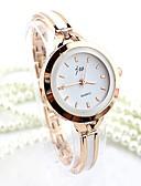 Χαμηλού Κόστους Quartz Ρολόγια-Γυναικεία Βραχιόλι Ρολόι χρυσό ρολόι Χαλαζίας Ασημί / Χρυσό απομίμηση διαμαντιών Αναλογικό κυρίες Βραχιόλι Μοντέρνα - Ασημί Χρυσαφί