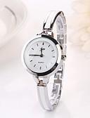 ราคาถูก นาฬิกาข้อมือแฟชั่น-สำหรับผู้หญิง นาฬิกาข้อมือ นาฬิกาทอง นาฬิกาอิเล็กทรอนิกส์ (Quartz) เงิน นาฬิกาใส่ลำลอง ระบบอนาล็อก สุภาพสตรี เสน่ห์ แฟชั่น - สีเงิน ทอง
