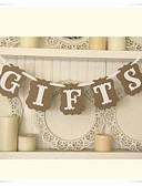 ราคาถูก ของประดับตกแต่งงานแต่งงาน-Banner และที่ปูพื้น กระดาษการ์ดแข็ง เครื่องประดับจัดงานแต่งงาน วันเกิด / งานเลี้ยงเจ้าสาว / รับขวัญเด็กแรกเกิด ธีมคลาสสิก ฤดูใบไม้ผลิ / ฤดูร้อน / ตก