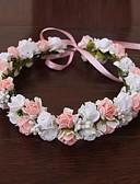 povoljno Haljine za majku mlade-Guma / Saten Cvijeće / Šeširi / vijence s Cvjetni print 1pc Vjenčanje / Special Occasion / Vanjski Glava