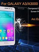 Χαμηλού Κόστους Προστατευτικά Οθόνης για Samsung-Προστατευτικό οθόνης για Samsung Galaxy A3 Σκληρυμένο Γυαλί Προστατευτικό μπροστινής οθόνης Σούπερ Λεπτό