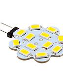 billiga Trosor-2 W LED-lampor med G-sockel 250 lm G4 12 LED-pärlor SMD 5630 Varmvit Kallvit 12 V / 10 st