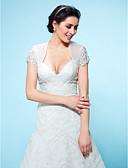 Χαμηλού Κόστους Βραδινά Φορέματα-Τούλι Γάμου / Πάρτι / Βράδυ Αναδιπλώνει Γάμου Με Μπολερό