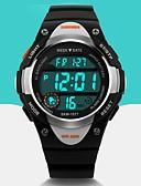Χαμηλού Κόστους Quartz Ρολόγια-SKMEI Ανδρικά Αθλητικό Ρολόι Ρολόι Καρπού Ψηφιακό ρολόι Χαλαζίας Ψηφιακό καουτσούκ Μαύρο / Μπλε / Ροζ Συναγερμός Ημερολόγιο Απίθανο Ψηφιακό Μοντέρνα - Μαύρο Μπλε Ροζ Δύο χρόνια Διάρκεια Ζωής Μπαταρίας