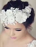 povoljno Vjenčani velovi-Čipka / Umjetno drago kamenje Cvijeće s 1 Vjenčanje / Special Occasion Glava
