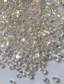 Χαμηλού Κόστους Στρας&Διακοσμητικά-Ακρυλικό Κοσμήματα Νυχιών Για δάχτυλο toe τέχνη νυχιών Μανικιούρ Πεντικιούρ Αφηρημένο / Κλασσικό Καθημερινά