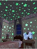 Χαμηλού Κόστους Μηχανικά Ρολόγια-Διακοσμητικά αυτοκόλλητα τοίχου - Φωτεινά Αυτοκόλλητα Τοίχου Σχήματα Σαλόνι / Υπνοδωμάτιο / Μπάνιο / Αφαιρούμενο