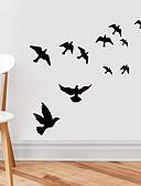 billige Bluser-Dyr Veggklistremerker Fly vægklistermærker Dekorative Mur Klistermærker, Vinyl Hjem Dekor Veggoverføringsbilde Vegg