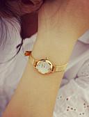 Χαμηλού Κόστους Quartz Ρολόγια-Γυναικεία Βραχιόλι Ρολόι χρυσό ρολόι Χαλαζίας Δίχτυ Χρυσό 30 m Καθημερινό Ρολόι Αναλογικό κυρίες Βίντατζ Μοντέρνα - Χρυσαφί Ασημί
