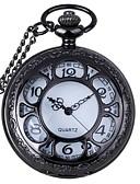 ราคาถูก นาฬิกาพก-สำหรับผู้ชาย สำหรับผู้หญิง ทุกเพศ นาฬิกาแบบพกพา นาฬิกาอิเล็กทรอนิกส์ (Quartz) 30 m แกะสลักกลวง ระบบอนาล็อก