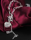 povoljno Koža-Žene Ogrlice s privjeskom Srce Ljubav Plastika Pink Ogrlice Jewelry Za