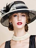 ราคาถูก หมวกสตรี-สำหรับผู้หญิง ลายบล็อคสี ปาร์ตี้ - หมวกโบวเลอร์ / Cloche