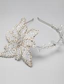ราคาถูก เดรสสาวดอกไม้-พลอยเทียม / โลหะผสม headbands กับ 1 งานแต่งงาน / โอกาสพิเศษ หูฟัง