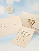 povoljno Kućište iPada-Tri preklopa Vjenčanje Pozivnice 50 - Others / Pozivnice Klasičan Materijal / Pearl papira Cvijet
