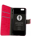 billige Vesker og deksler-Etui Til iPhone 4/4S / Apple iPhone 4s / 4 Heldekkende etui Hard PU Leather