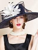 ราคาถูก หมวกสตรี-Flax Kentucky Derby Hat / หมวก กับ 1 งานแต่งงาน / โอกาสพิเศษ หูฟัง