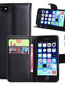 ราคาถูก เคสสำหรับ iPhone-Case สำหรับ Apple iPhone 7 Plus / iPhone 7 / iPhone 6s Plus Wallet / Card Holder / with Stand ตัวกระเป๋าเต็ม สีพื้น Hard หนัง PU