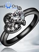 Χαμηλού Κόστους Quartz Ρολόγια-Γυναικεία Band Ring Cubic Zirconia Λευκό Χρώμα Οθόνης Cubic Zirconia Επιχρυσωμένο Μοντέρνα Πάρτι Κοσμήματα