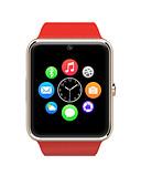 povoljno Muški satovi-Smart Satovi Ekran na dodir Brojači koraka Mjerač sna Podešivač vremena Budilica 2G Bluetooth 3.0 SIM kartica