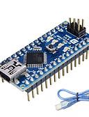 ราคาถูก เสื้อยืดและเสื้อกล้ามผู้ชาย-นาโน v3.0 atmega328p สำหรับ Arduino (ทำงานร่วมกับบอร์ด Arduino อย่างเป็นทางการ)
