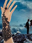 billiga Korsetter och bustiers-Dam Ringarmband damer Vintage Gotiskt Brudkläder Spets Armband Smycken Vit / Svart Till Julklappar Bröllop Party Dagligen Casual Cosplay Kostymer/Dräkter