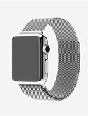 ราคาถูก กระโปรงผู้หญิง-สายนาฬิกา สำหรับ Apple Watch Series 5/4/3/2/1 Apple สายสแตนเลส Milanese สแตนเลส สายห้อยข้อมือ