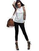 ราคาถูก หมวกสตรี-สำหรับผู้หญิง ขนาดพิเศษ เสื้อสตรี ลายเสือ ขาว