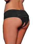 preiswerte Höschen-Damen Übergrössen Polyester / Spitze Loch, Jacquard - Besonders sexy Höschen Mittlere Taillenlinie