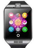 billige Hatter til herrer-q18 smartwatch bt fitness tracker med kamerastøtte varsle / pulsmåler sports smartklokke for samsung / iphone / android telefoner