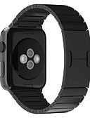 halpa Smartwatch-nauhat-Watch Band varten Apple Watch -sarja 5/4/3/2/1 Apple Butterfly Buckle Ruostumaton teräs Rannehihna