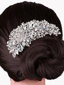 Χαμηλού Κόστους Πέπλα Γάμου-Κράμα Κομμάτια μαλλιών με 1 Γάμου / Ειδική Περίσταση Headpiece