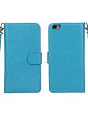 Χαμηλού Κόστους Θήκες iPhone-tok Για Apple iPhone 8 Plus / iPhone 8 / iPhone 7 Plus Πορτοφόλι / Θήκη καρτών / με παράθυρο Πλήρης Θήκη Μονόχρωμο Σκληρή PU δέρμα