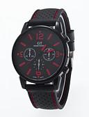 ราคาถูก นาฬิกาสำหรับผู้ชาย-สำหรับผู้ชาย นาฬิกาข้อมือ สายการบิน นาฬิกาอิเล็กทรอนิกส์ (Quartz) ยางทำจากซิลิคอน สีขาว / แดง / ออเรนจ์ นาฬิกาใส่ลำลอง ระบบอนาล็อก เสน่ห์ คลาสสิก - สีเหลือง แดง สีเขียว หนึ่งปี อายุการใช้งานแบตเตอรี่